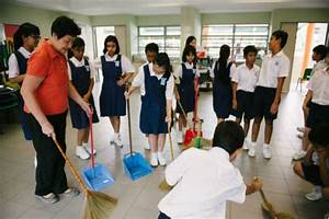 Students made to clean school everyday | School Advisor