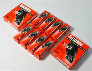 Autolite Spark Plugs Set Of 8 For Nkb Heads 14mm  750