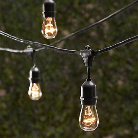 new outdoor commercial string lights outdoor