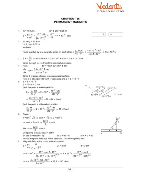 hc verma class  physics part  solutions  chapter