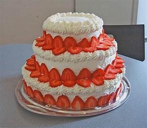 Torte Mit Erdbeeren : joghurt sahne torte mit erdbeeren rezepte suchen ~ Lizthompson.info Haus und Dekorationen