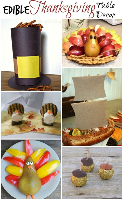 Edible Thanksgiving Table Decor  A Proverbs 31 Wife
