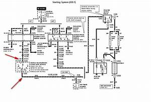 1989 Ford Truck Starter Wire Diagram