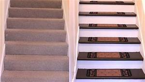 How to Renovate Carpeted Stairs to Hardwood - DIY - YouTube