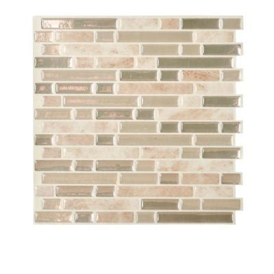 smart tiles home depot smart tiles bellagio 10 in x 10 13 in mosaic decorative
