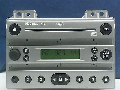 ford car stereo radio cd 4500 rds eon from 53 plate 163 18 00 picclick uk