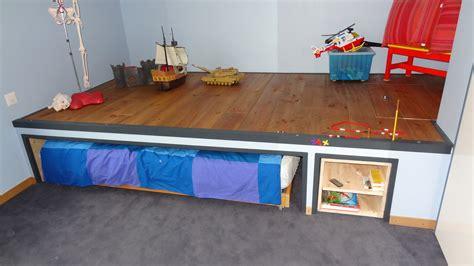 table de cuisine avec banc mes travaux chambre enfant avec estrade