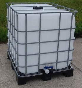 ibc container wassertank olfass regentonne 1000 l ebay With französischer balkon mit ibc container garten