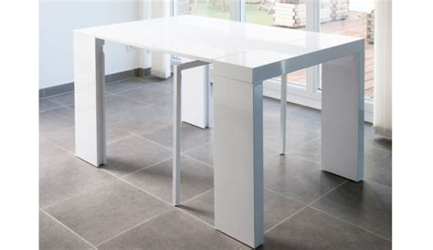 table extensible blanc laque best console extensible laqu 233 images transformatorio us transformatorio us