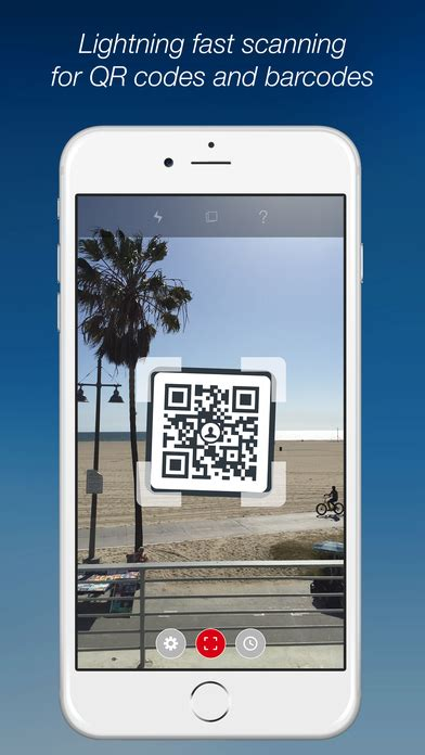 scan with iphone scan qr codes with iphone running ios 11 using the app scan qr code and barcode reader app voor iphone