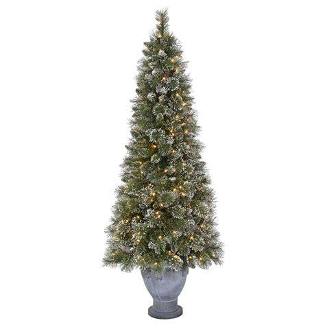 martha stewart living  ft pre lit sparkling pine