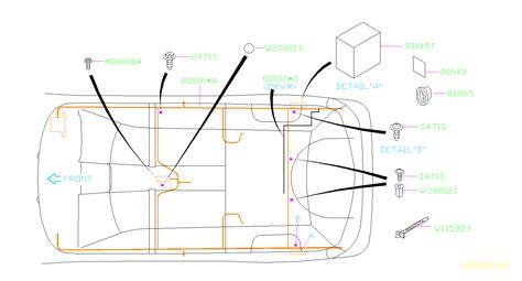 Subaru 360 Wiring Diagram by 2003 Subaru Legacy Harness Rear Wiring Electrical