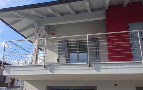 ringhiera in acciaio balaustre in acciaio per balconi il di roversi scale