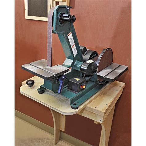 slick swiveling sander stand woodworking plan  wood magazine