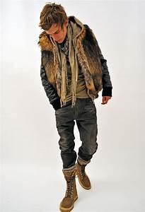 Keaira Monique  Steez   Balmain Mens Fur Vest