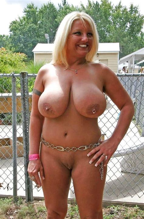 Busty Blonde Mature Via R Maturemilf Huge Boobs Luscious