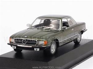 Minichamps Mercedes 450 SLC R107 1974 Dark Green