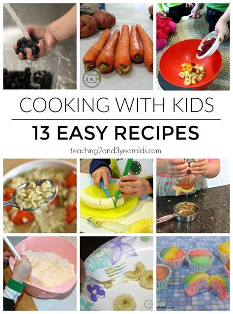 cooking with recipes from teaching 2 and 3 year olds 442 | Cooking with Kids