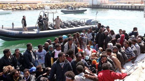 Libya To Italy By Boat 2017 by 4 400 Migrants Rescued In A Day From Waters Libya Cnn