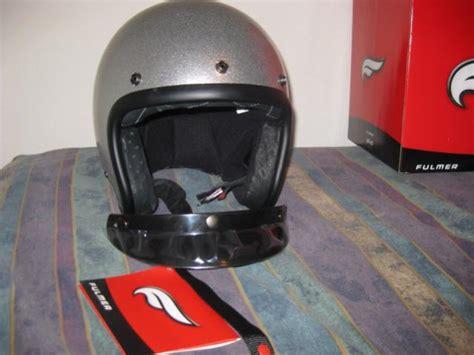 Fulmer Silver Bobber Helmet