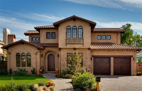 Mediterranean Style Stucco Homes