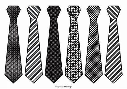 Tie Necktie Mens Clipart Vetor Gravatas Ties