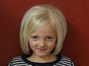 Cut Short Style Into Little Girls Hair And Style Boys