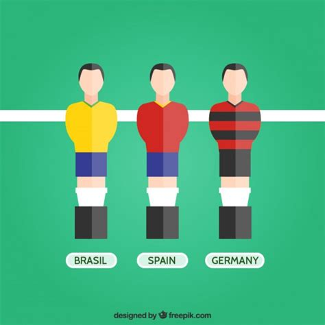foosball vectors   psd files