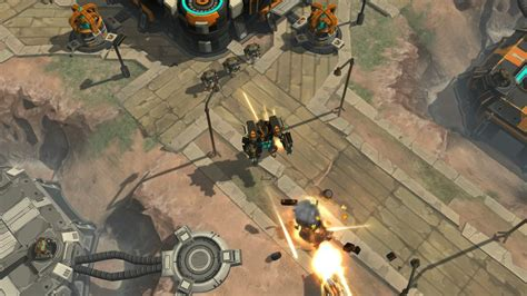 action strategy game airmech arena coming  ps xbox   spring polygon