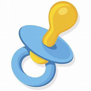 Pacifier Clip Art, Vector Images & Illustrations - iStock