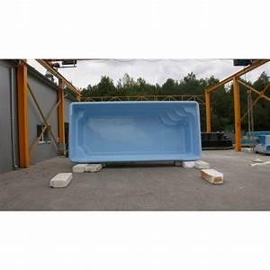Prix piscine coque rectangulaire 7M60x3Mx1M50