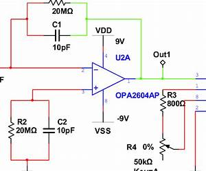 The Schematic Of Signal Conditioning Circuit In Multisim