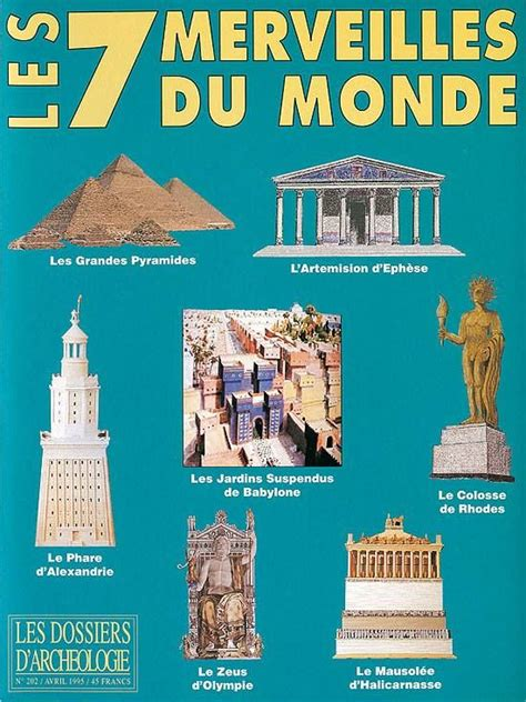 les 7 merveilles du monde list been or hoping