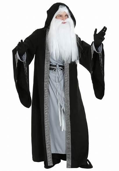 Wizard Costume Adult Plus Costumes Deluxe Halloween