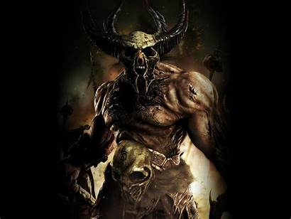 Warrior Dark Demon Evil Demons Fantasy Nombres