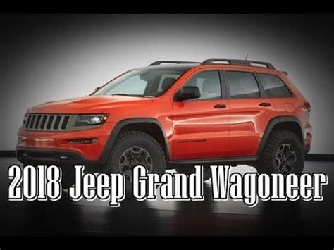 jeep grand wagoneer concept interior  exterior