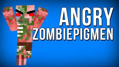 angry minecraft zombie pigmen