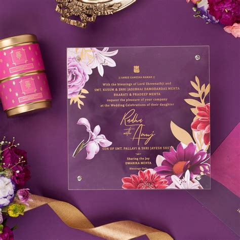 10 Exclusive Indian Wedding Invitation Card Ideas Check