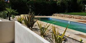 beautiful piscine dans un jardin en pente contemporary With amazing jardin en pente amenagement 0 amenagement dun jardin en restanques aix jardin