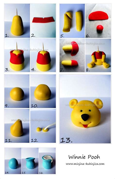 Winnie The Pooh Cake Template by Winnie Pooh Tutorial Sketches Patterns Templates