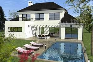plan de maison moderne related keywords plan de maison With plan des maisons modernes