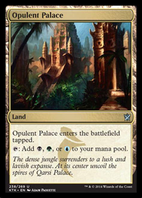 opulent palace khans  tarkir visual spoiler