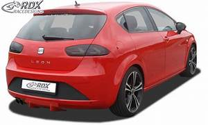 Rdx Rear Diffuser Seat Leon 1p  Before And After Facelift  Also Fr  U0026 Cupra  U0026 Aero Kit