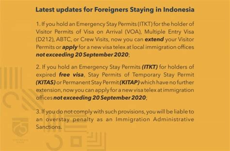 Application Period for Residence Permits Extended - IndoNed