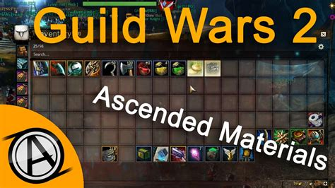 guild wars 2 crafting guild wars 2 opening chest of ascended crafting 4587