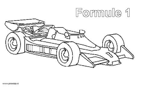 Kleurplaat Raceauto by Formule 1 En Raceauto S Knutsels En Kleurplaten