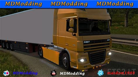 daf xf and 50keda ets 2 mods