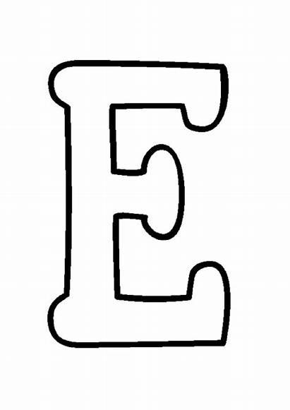 Alfabeto Letras Imprimir Separadas Moldes Coloring