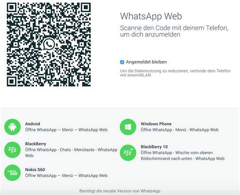 Whatsapp Mobile Site Whatsapp Web Version Noch Nicht F 252 R Iphone Nutzer Mobil