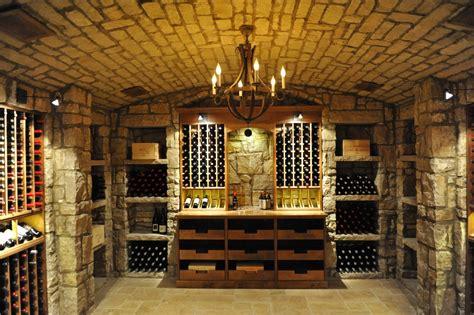 extravagant rustic wine cellar designs